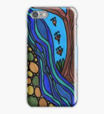 earth, river, tree iPhone Case/Skin