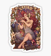 Gamer girl Nouveau Sticker