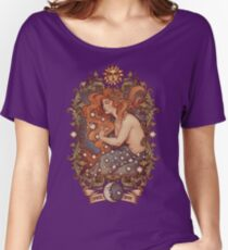 COSMIC LOVER - Color version Women's Relaxed Fit T-Shirt