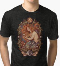 COSMIC LOVER - Color version Tri-blend T-Shirt
