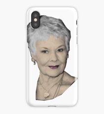 Judi - The Great Dames iPhone Case