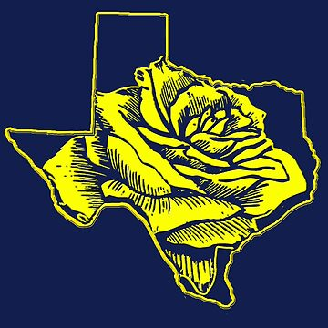 Yellow Rose of Texas by TheFuzzyPepe