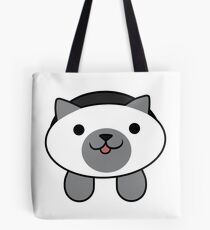Marshmallow the Cat Tote Bag