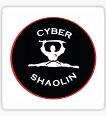 cyber shaolin split Sticker