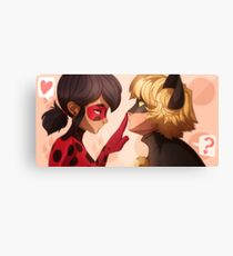 Ladybug x Chat Noir Canvas Print