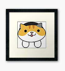 Tabitha the Cat Framed Print