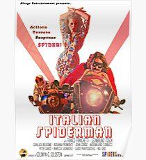 Italian Spiderman Poster - ONE:Print Poster