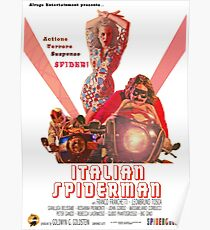 Italian Spiderman Poster - ONE:Print Poster