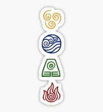 Bending Symbols Sticker