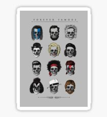 Famous Icons Sticker