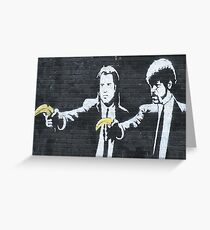 banksy-15 Greeting Card