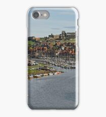Whitby Marina and The River Esk iPhone Case/Skin