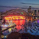 Sydney NYE Fireworks 2015 # 20 by Philip Johnson