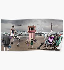 Blackpool 'Pleasure' Beach Poster