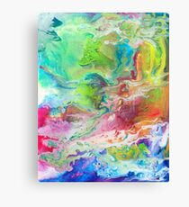 Psychedelic Rivers Canvas Print