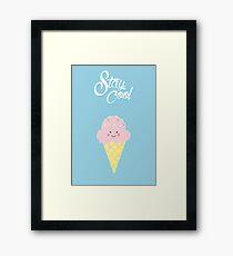 Stay Cool (cute) Framed Print
