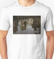 Amsterdam - Moody Canal Reflections in the Rain T-Shirt
