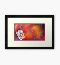 Bigger on the Inside Framed Print