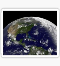 Tropical storms on planet Earth. Sticker