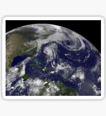 Tropical cyclones Katia, Lee, Maria and Nate in the Atlantic Ocean. Sticker