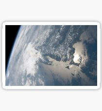 Sunglint on the waters of Earth. Sticker