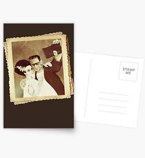 1937 Valentines Day Photo Postcards