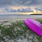Paradise in Moreton Bay - Coochiemudlo Is Qld Australia by Beth  Wode