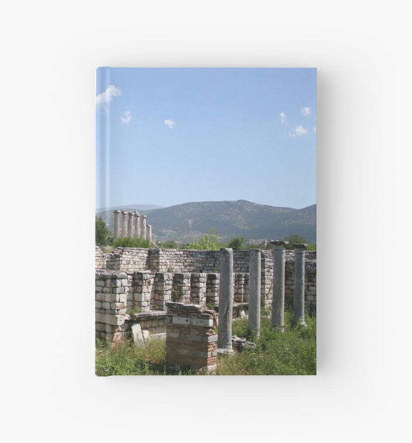 The Courtyard Of The Bishops Palace Aphrodisias Turkey by taiche