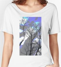 Sillhouette Trees zooty Women's Relaxed Fit T-Shirt