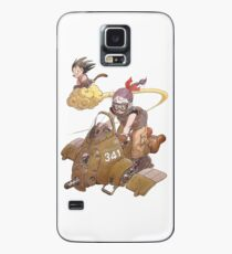 Toriyama artwork / Goku and Bulma Case/Skin for Samsung Galaxy