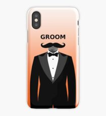 Groom iPhone Case/Skin