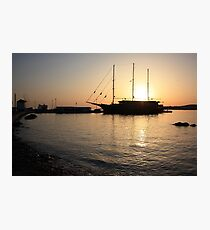 Mediterranean Sunset Photographic Print