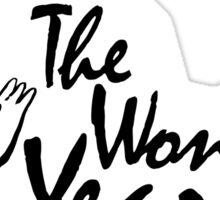 The Wonder Years Sticker Sticker