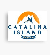 Catalina Island - California. Canvas Print