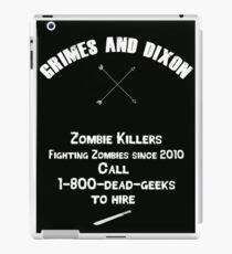 Zombie Killers iPad Case/Skin
