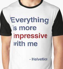 best font ever ( helvetica) Graphic T-Shirt