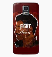 Dorian - Fight For What's In You Heart Case/Skin for Samsung Galaxy
