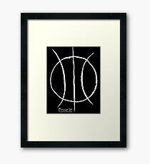 Basketball Symbol WoB Framed Print