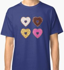 Heart Shaped Donuts Classic T-Shirt