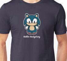 Hello Hedgehog (Sonic) Unisex T-Shirt