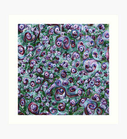 #DeepDream Ice 5x5K v1452178372 Art Print