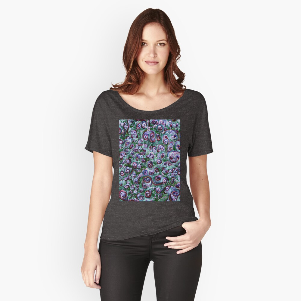 #DeepDream Ice 5x5K v1452178372 Women's Relaxed Fit T-Shirt Front