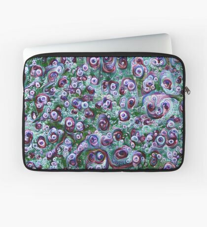 #DeepDream Ice 5x5K v1452178372 Laptop Sleeve
