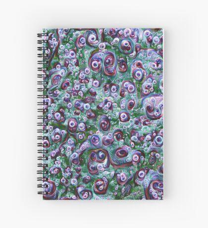 #DeepDream Ice 5x5K v1452178372 Spiral Notebook
