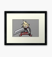 1ST CLASS SOLDIER (Final Fantasy VII) Framed Print