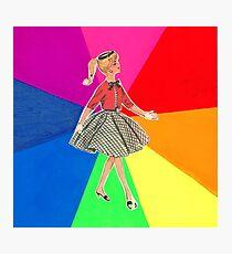 Rainbow Girl Photographic Print