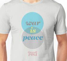 ORWELL 1984  -  war is peace Unisex T-Shirt