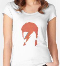David Bowie / Ziggy Stardust Women's Fitted Scoop T-Shirt
