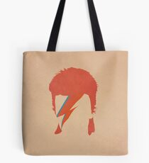 David Bowie / Ziggy Stardust Tote Bag
