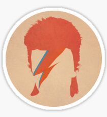 David Bowie / Ziggy Stardust Sticker